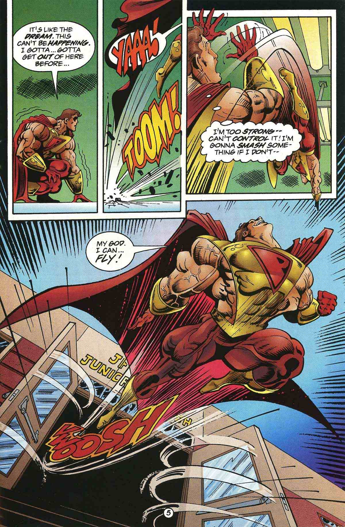 Read online Ultraverse Premiere comic -  Issue #0 - 7