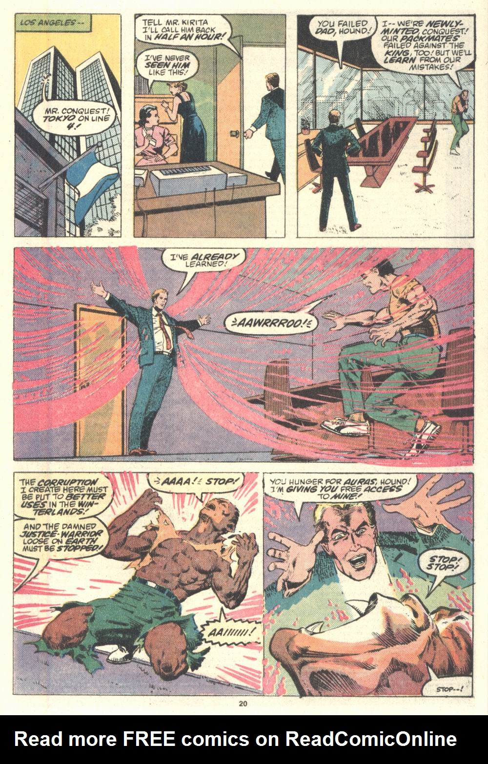 Read online Justice (1986) comic -  Issue #2 - 21