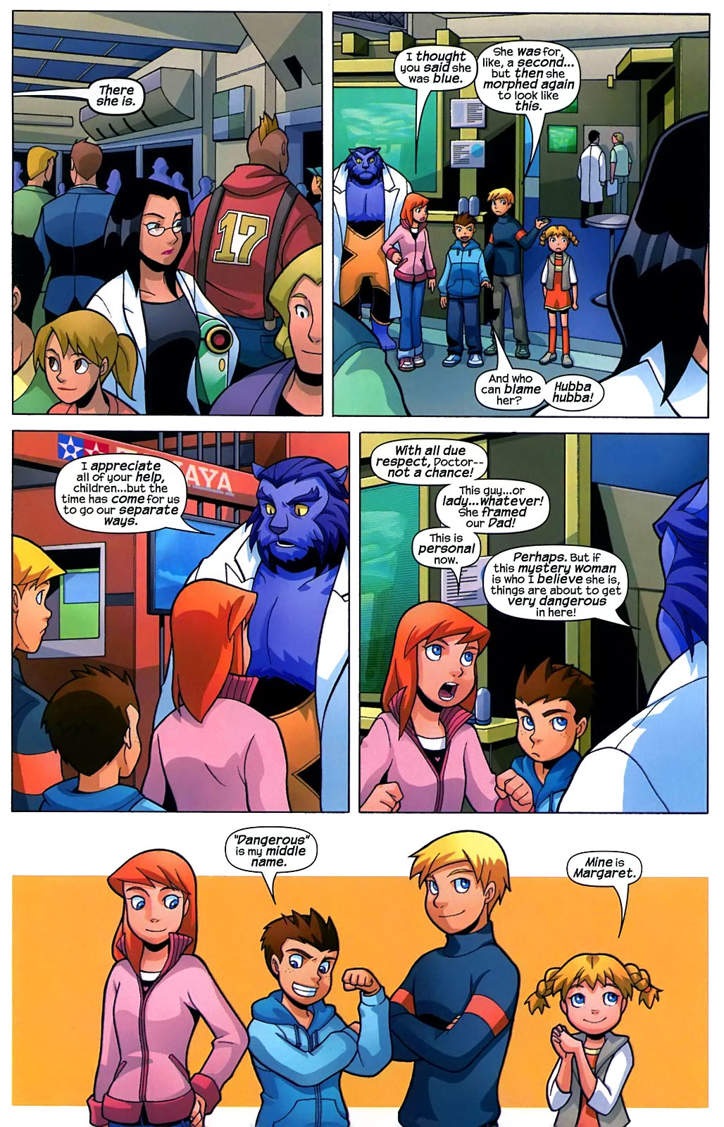 Read online X-Men and Power Pack comic -  Issue #2 - 14