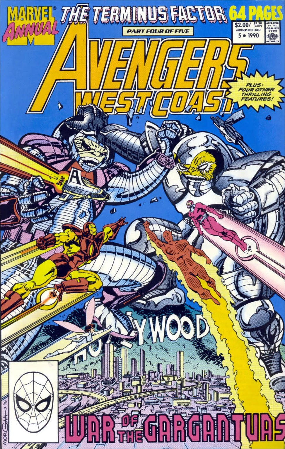 Avengers West Coast (1989) Annual_5 Page 1