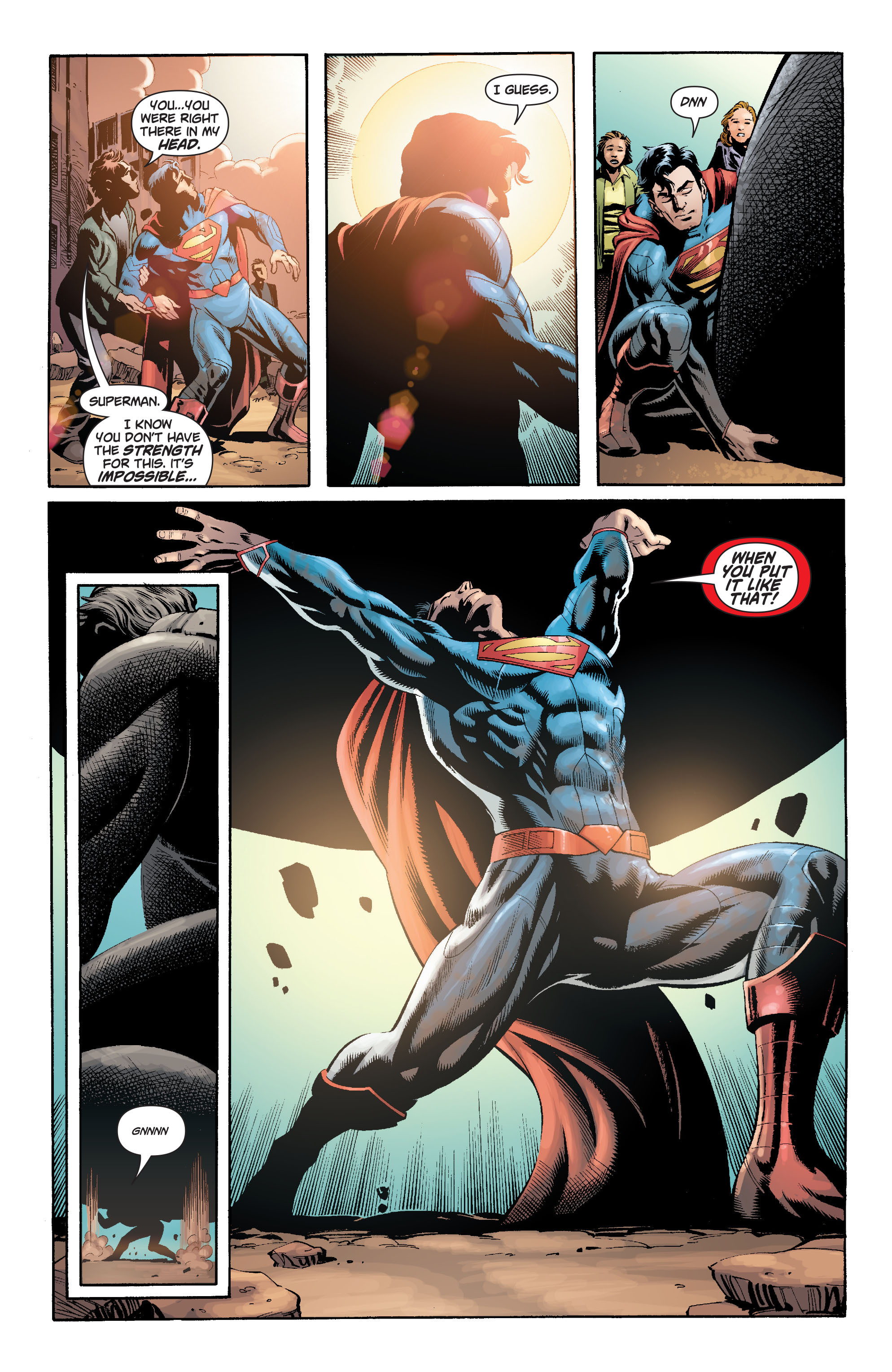 Read online Action Comics (2011) comic -  Issue #18 - 25