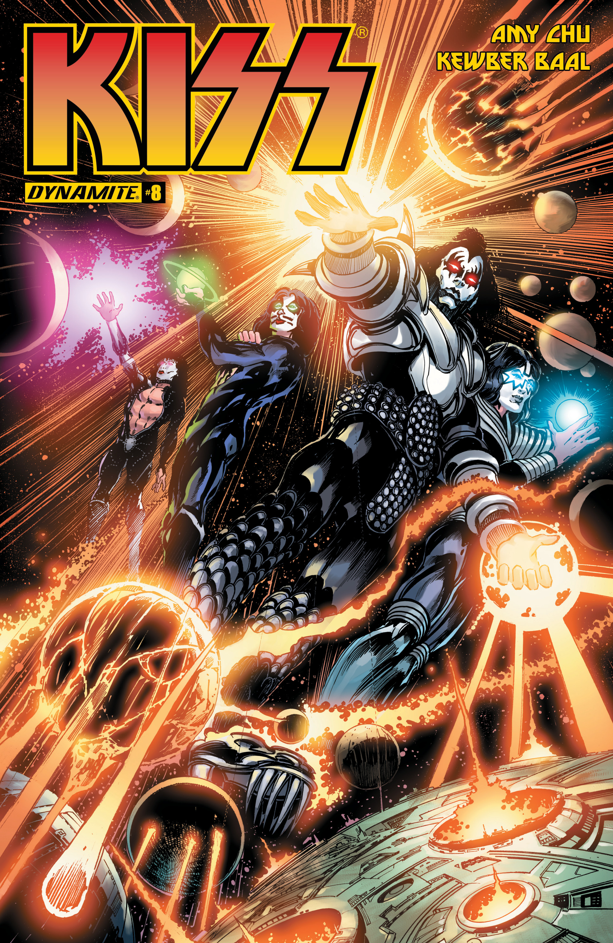 Read online KISS comic -  Issue #8 - 1