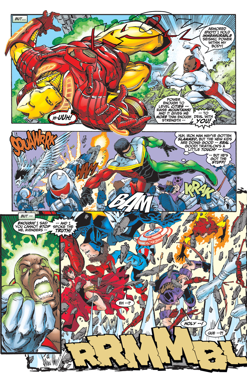 Read online Avengers (1998) comic -  Issue #9 - 15