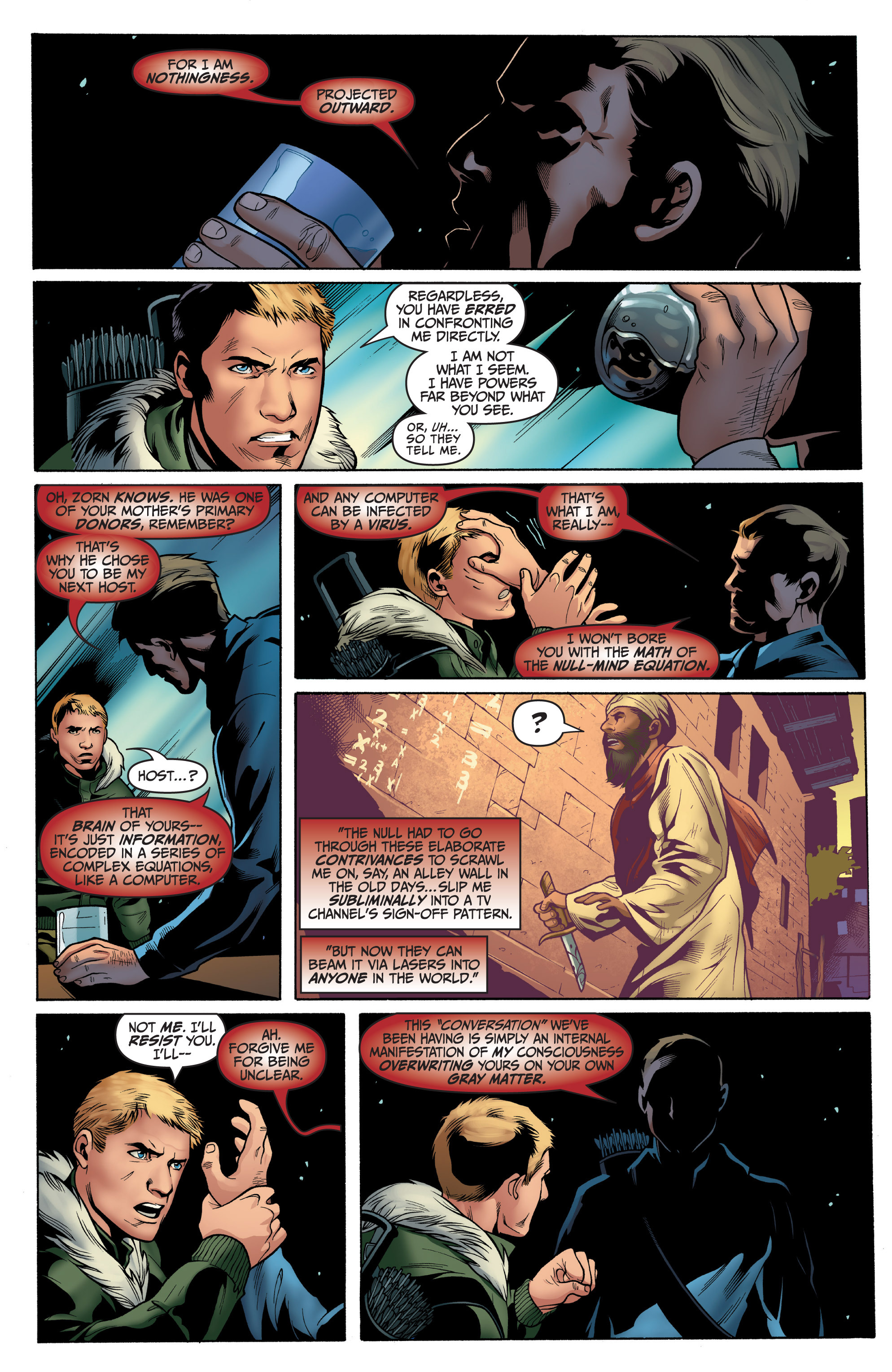 Read online Archer and Armstrong comic -  Issue #8 - 19