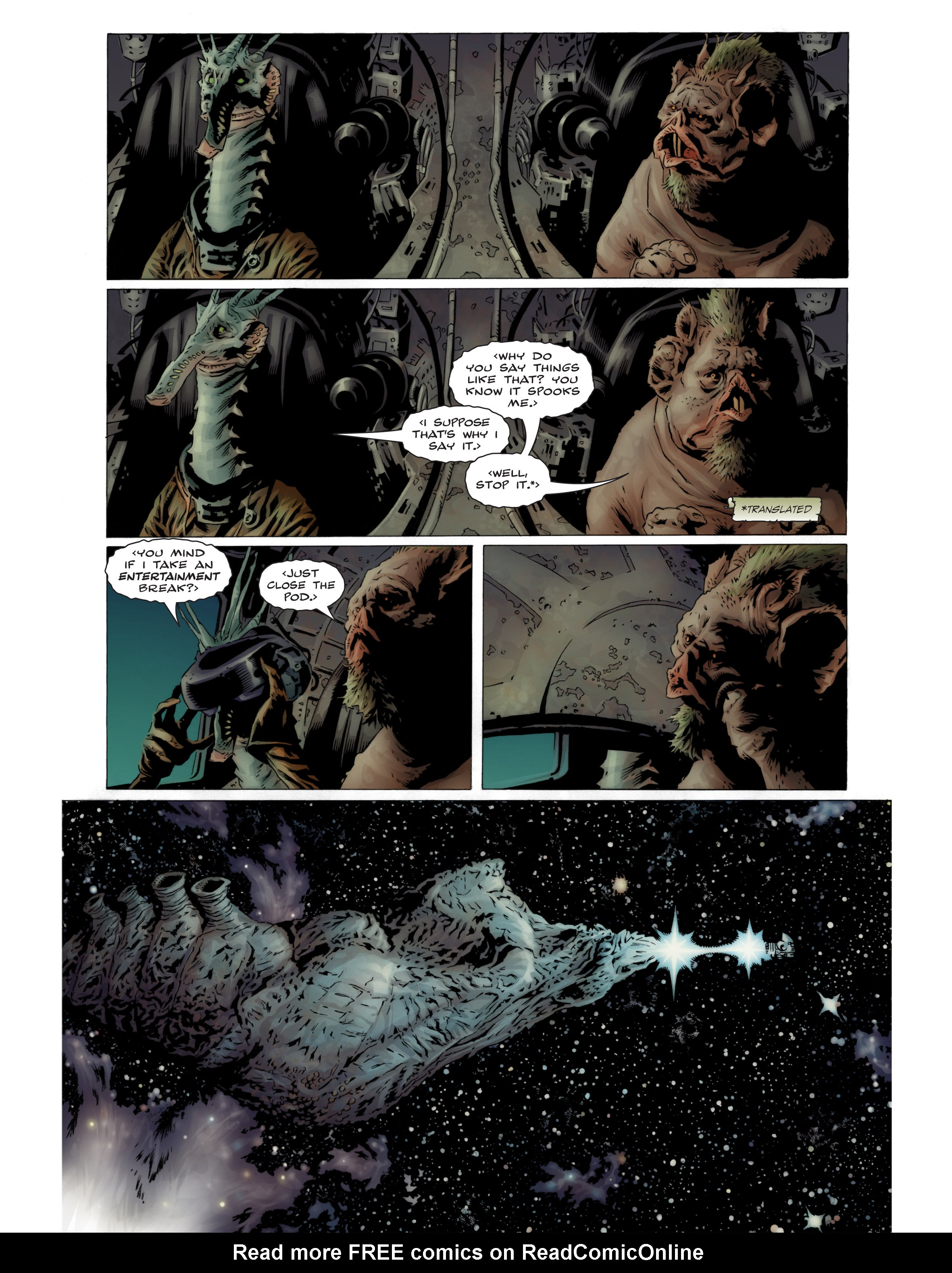 Read online Bad Planet comic -  Issue # TPB - 7
