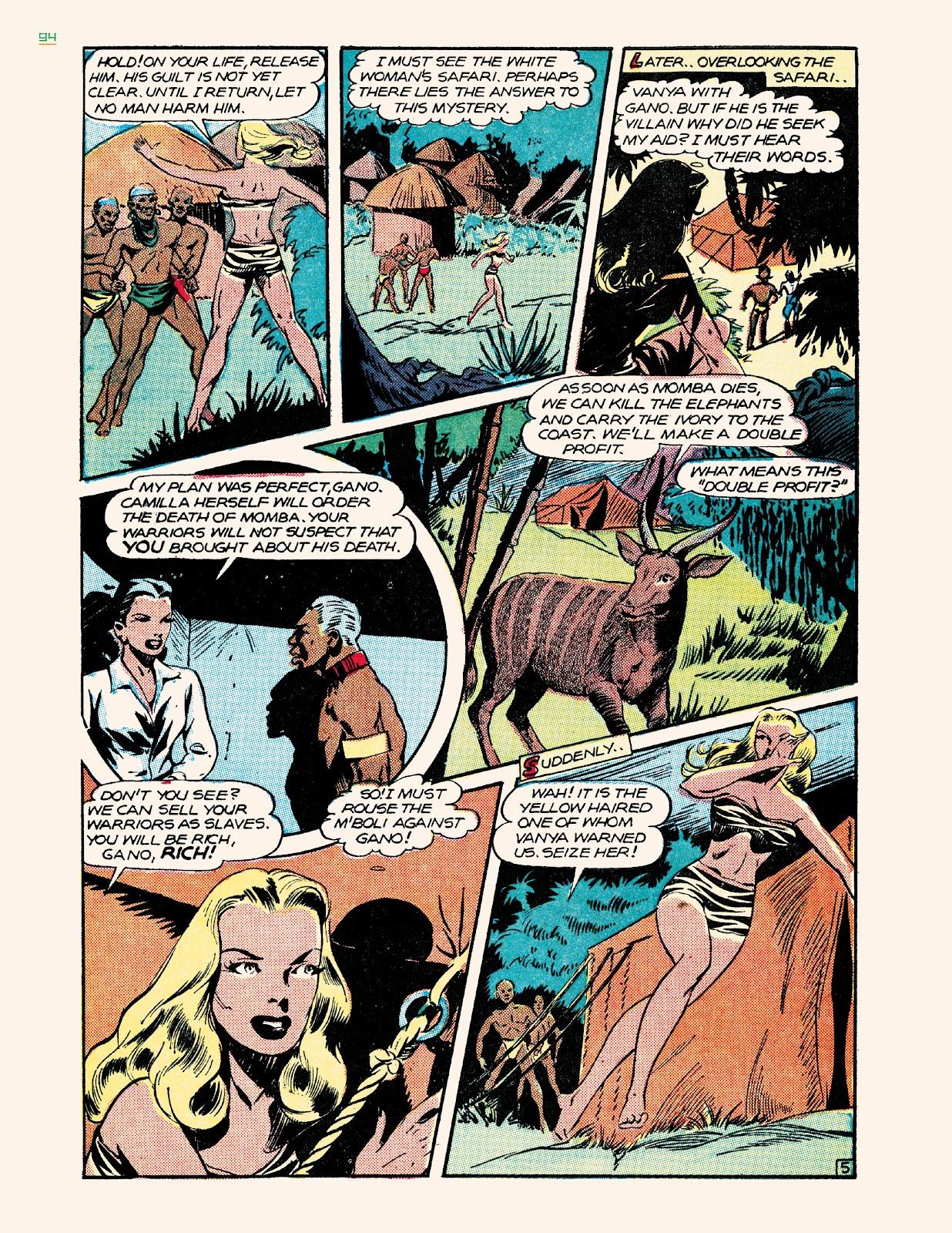 Read online Jungle Girls comic -  Issue # TPB (Part 1) - 94