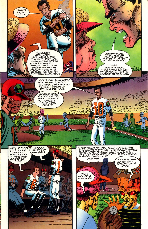 Read online Mars Attacks Baseball Special comic -  Issue # Full - 16