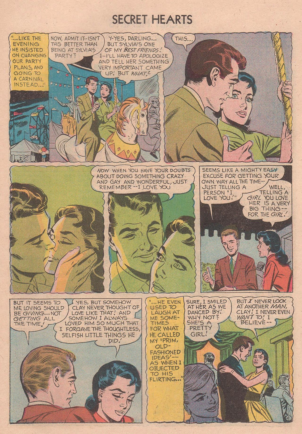 Read online Secret Hearts comic -  Issue #39 - 23