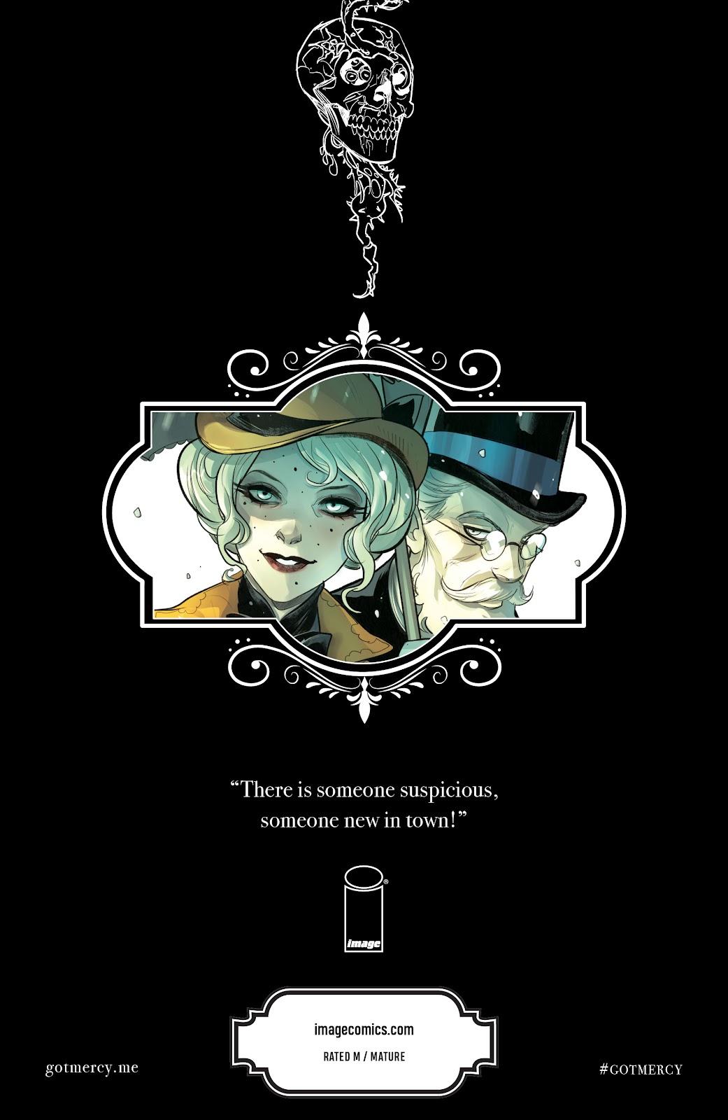 Read online Mirka Andolfo's Mercy comic -  Issue #3 - 31