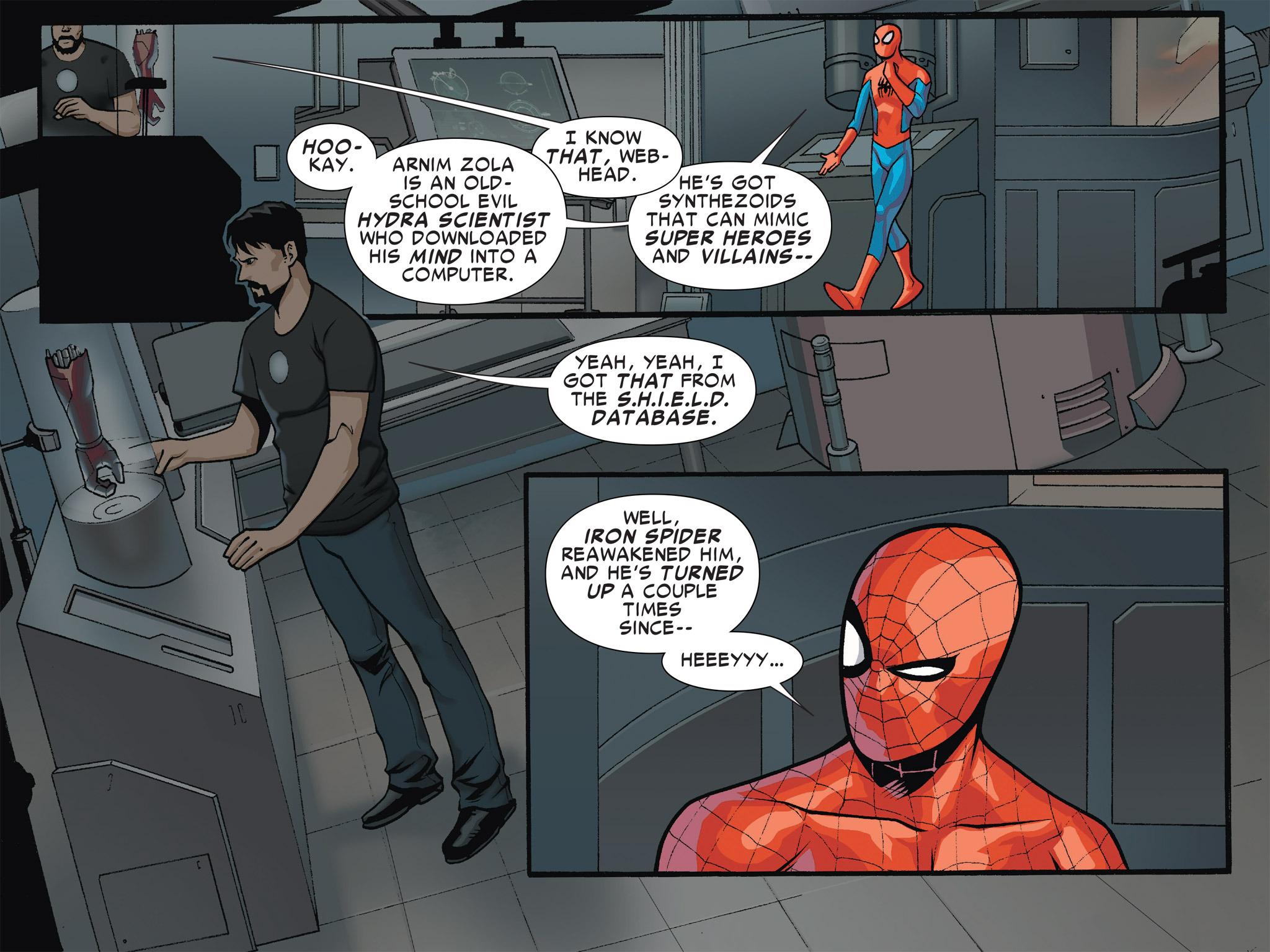 Read online Ultimate Spider-Man (Infinite Comics) (2016) comic -  Issue #4 - 9