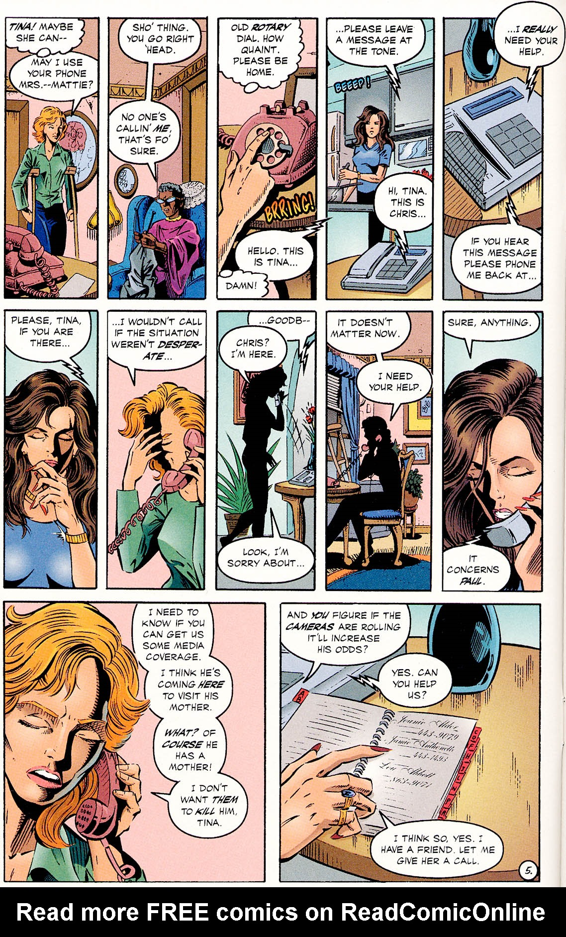 Read online ShadowHawk comic -  Issue #18 - 7