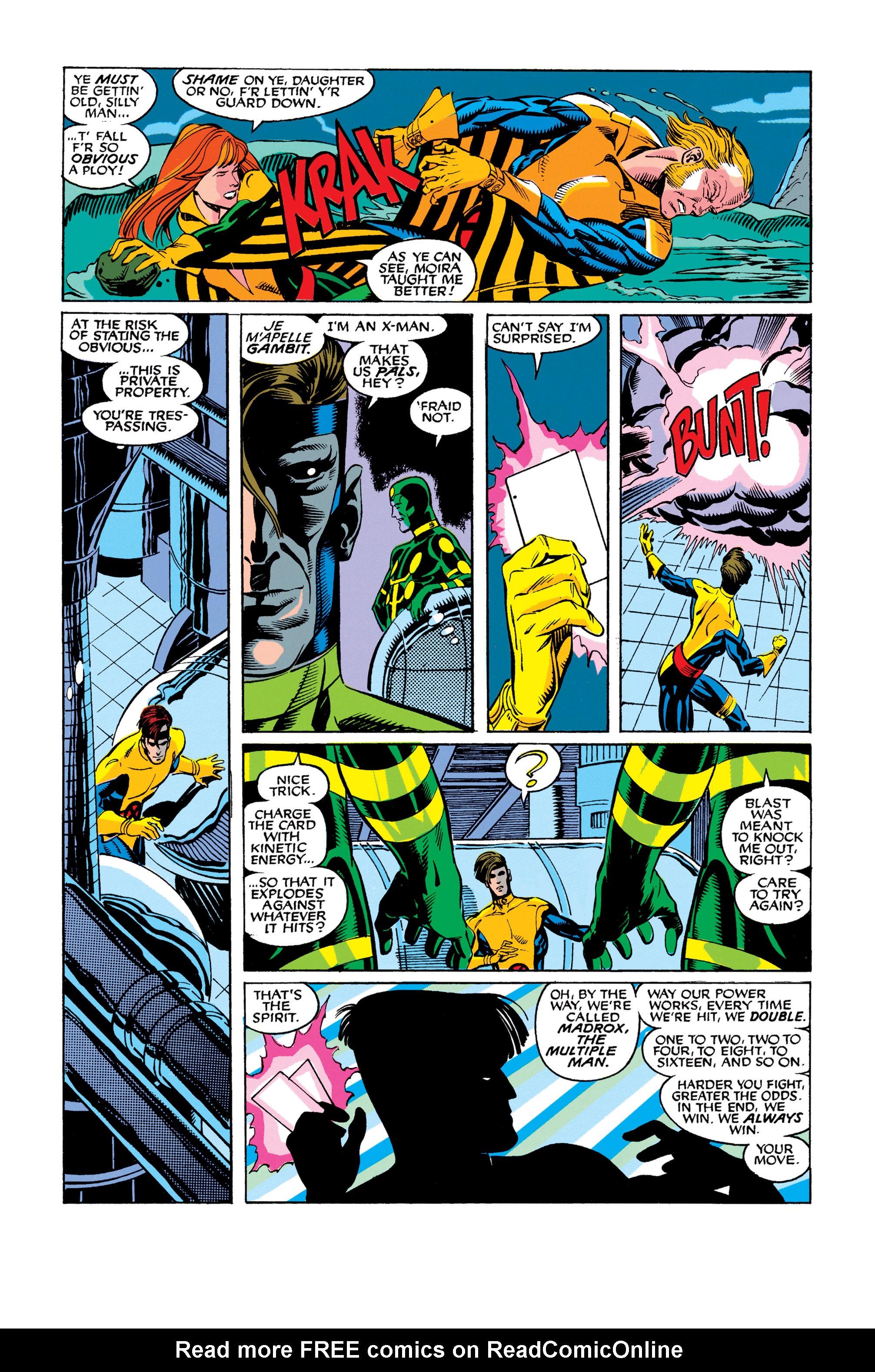 Read online Uncanny X-Men (1963) comic -  Issue #278 - 19