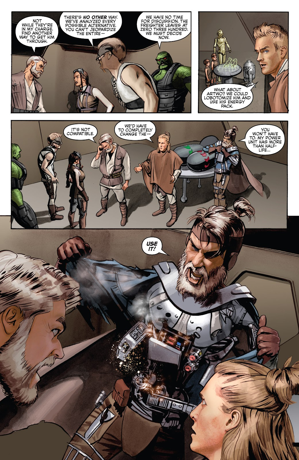 Read online Star Wars Legends: Infinities - Epic Collection comic -  Issue # TPB (Part 4) - 89