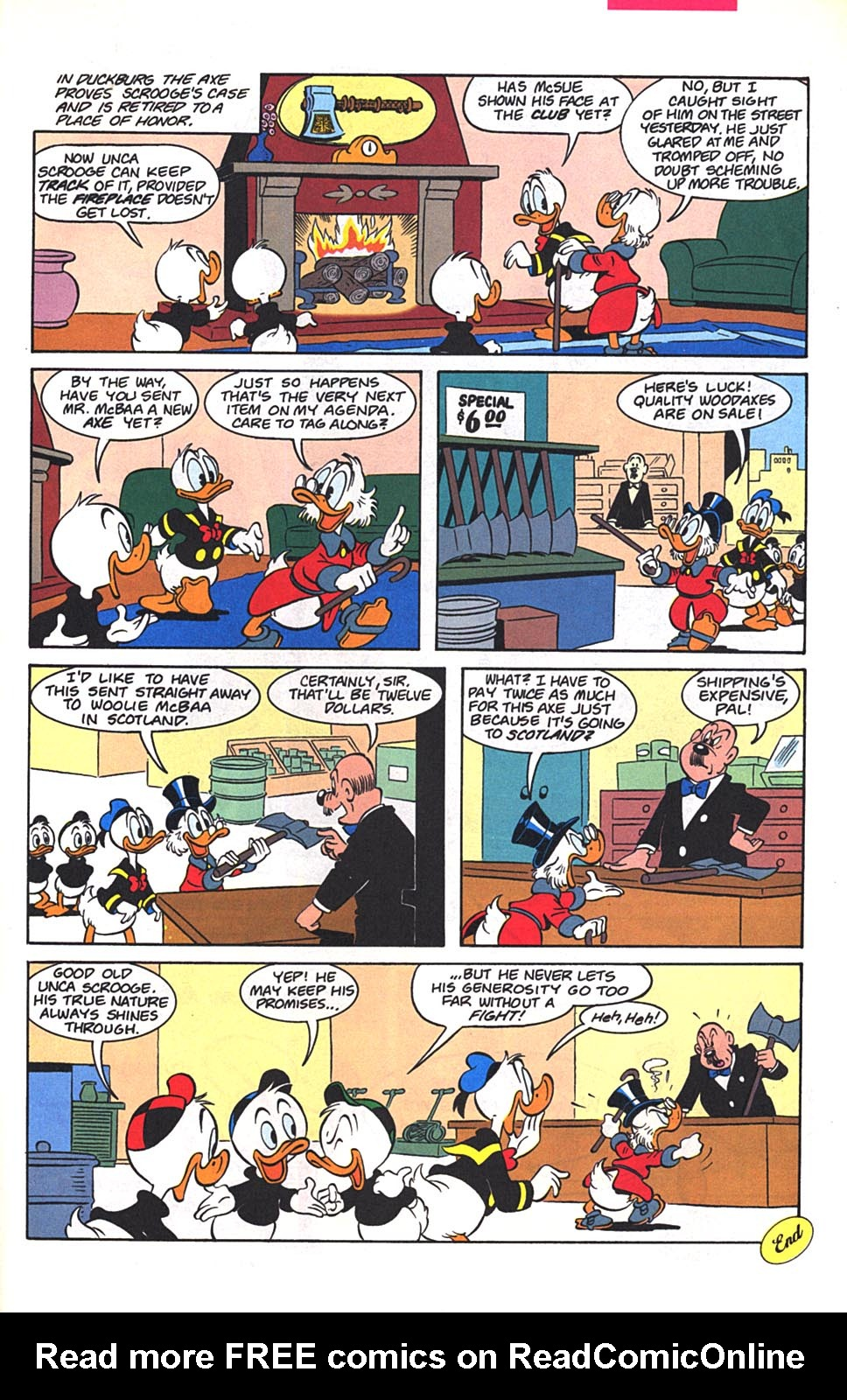 Read online Uncle Scrooge (1953) comic -  Issue #272 - 23