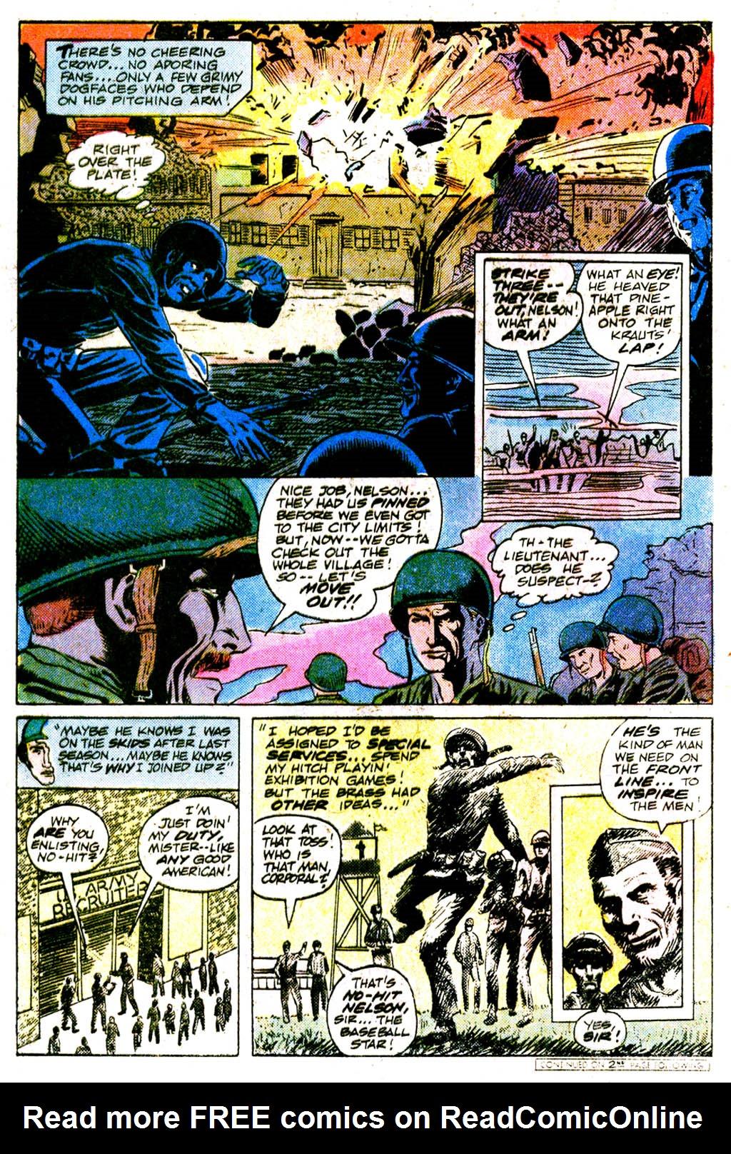 Read online Sgt. Rock comic -  Issue #364 - 27