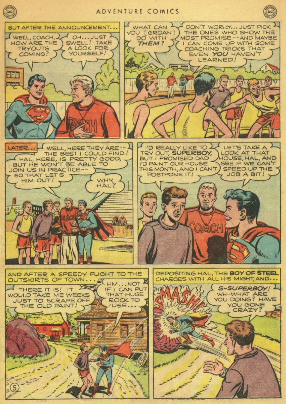 Read online Adventure Comics (1938) comic -  Issue #162 - 7