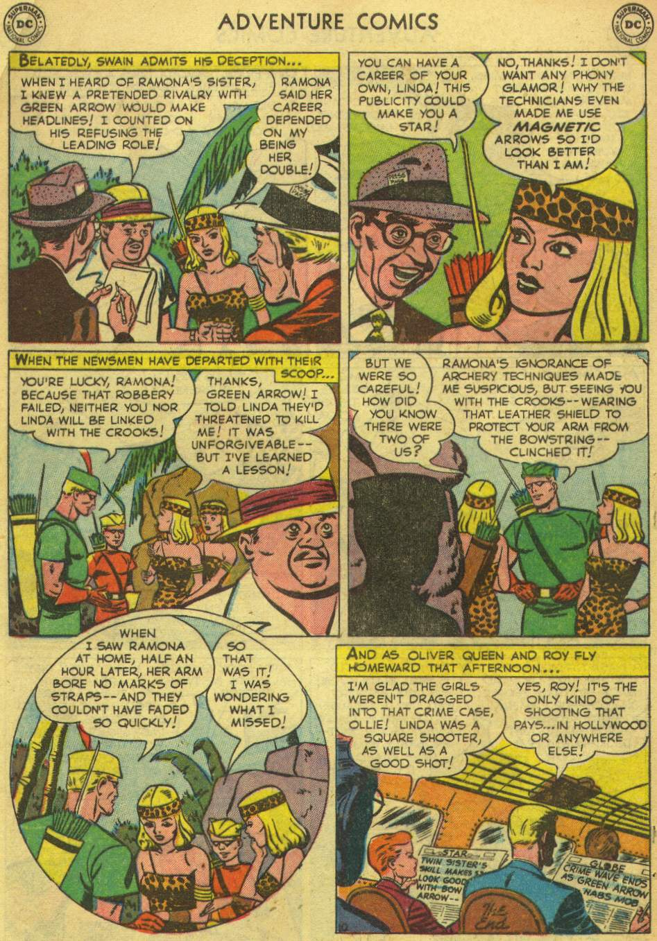 Read online Adventure Comics (1938) comic -  Issue #167 - 48