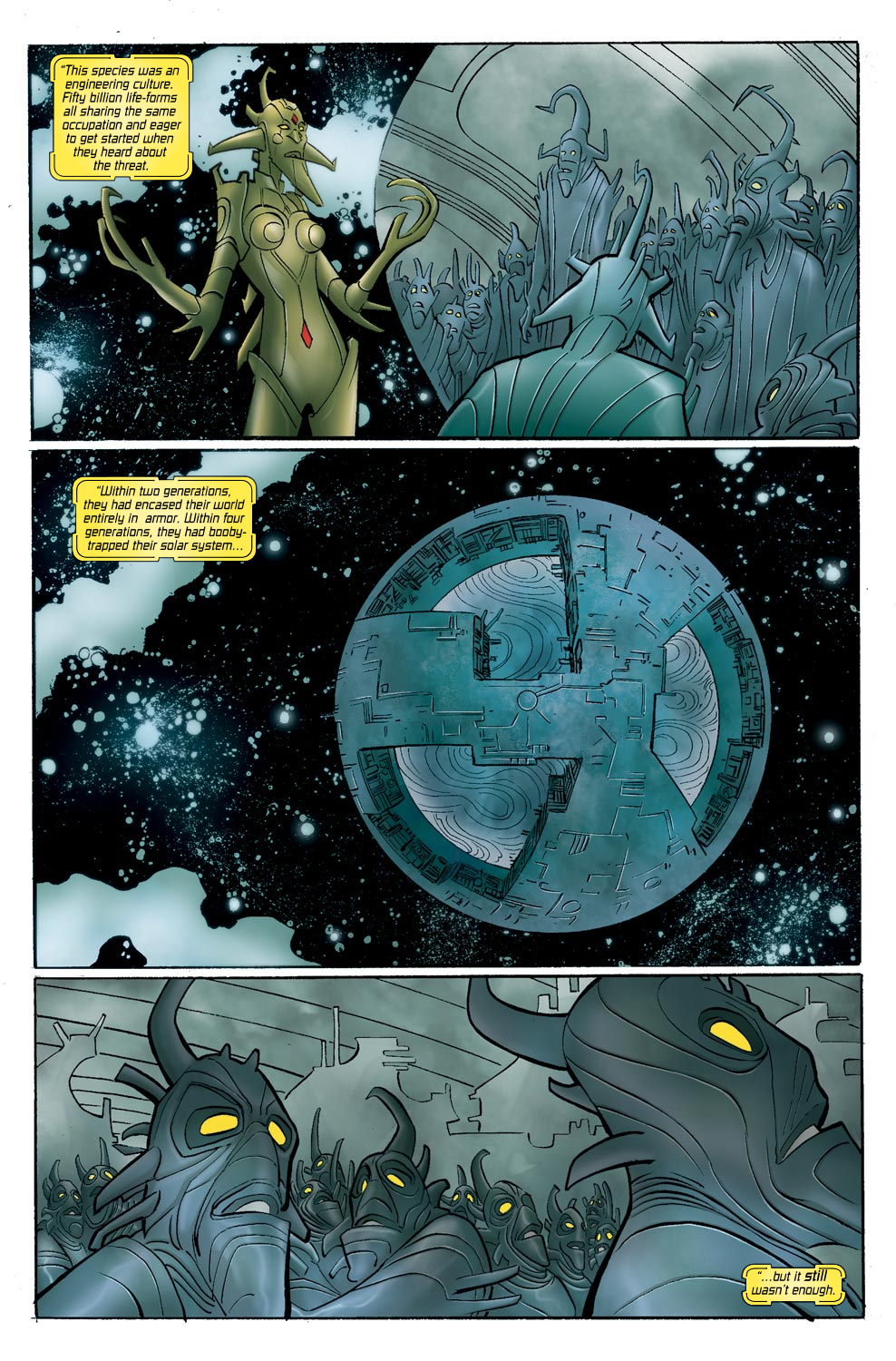 Read online Ultimate Vision comic -  Issue #0 - 16
