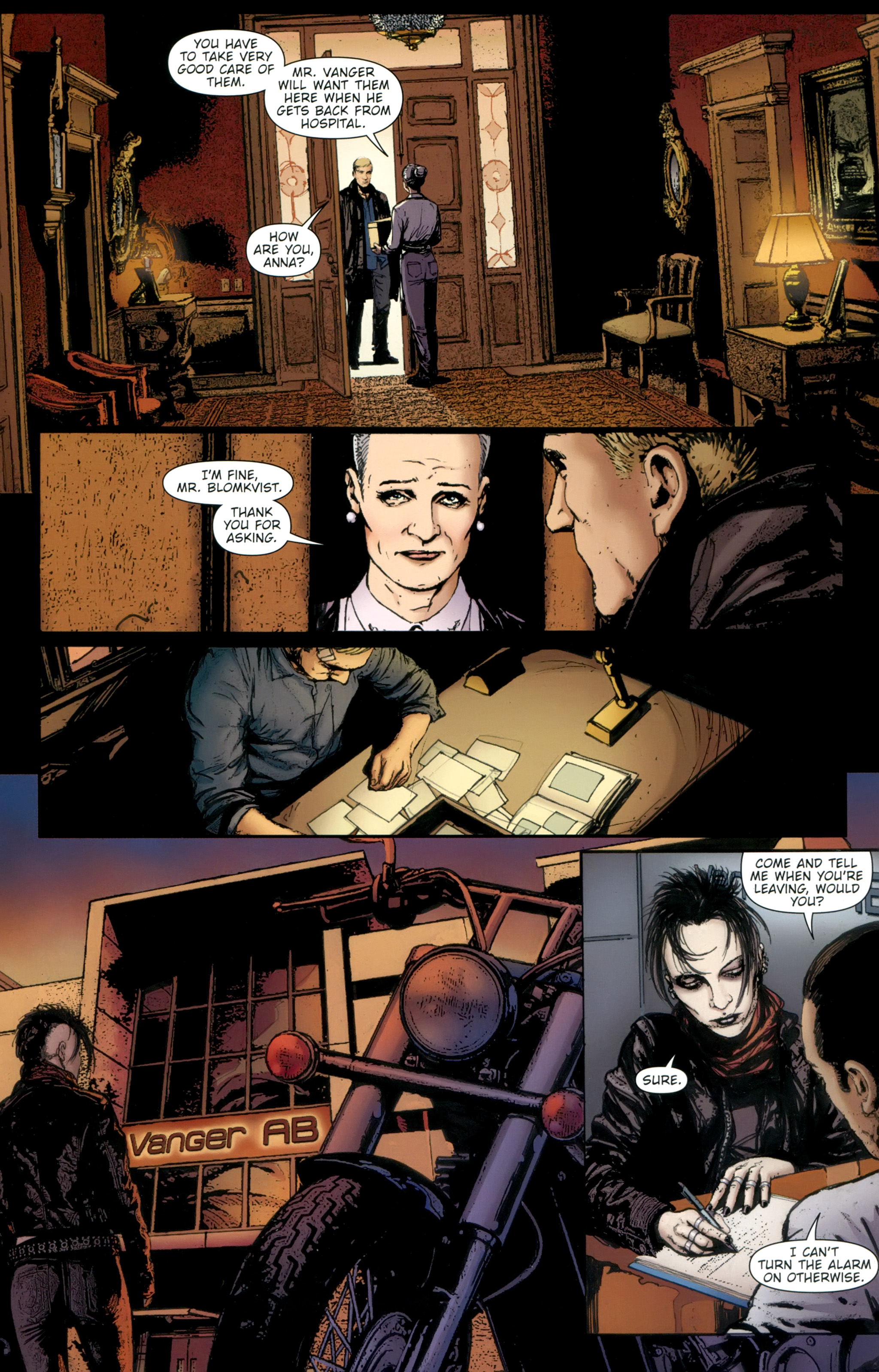Read online The Girl With the Dragon Tattoo comic -  Issue # TPB 2 - 74