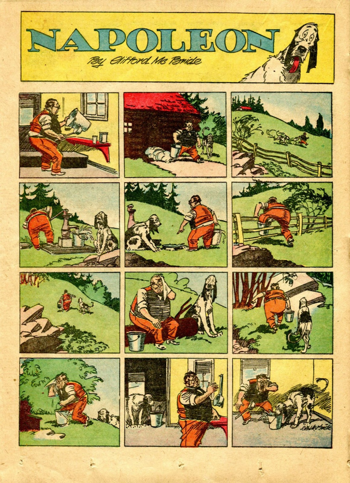Read online Famous Funnies comic -  Issue #64 - 35