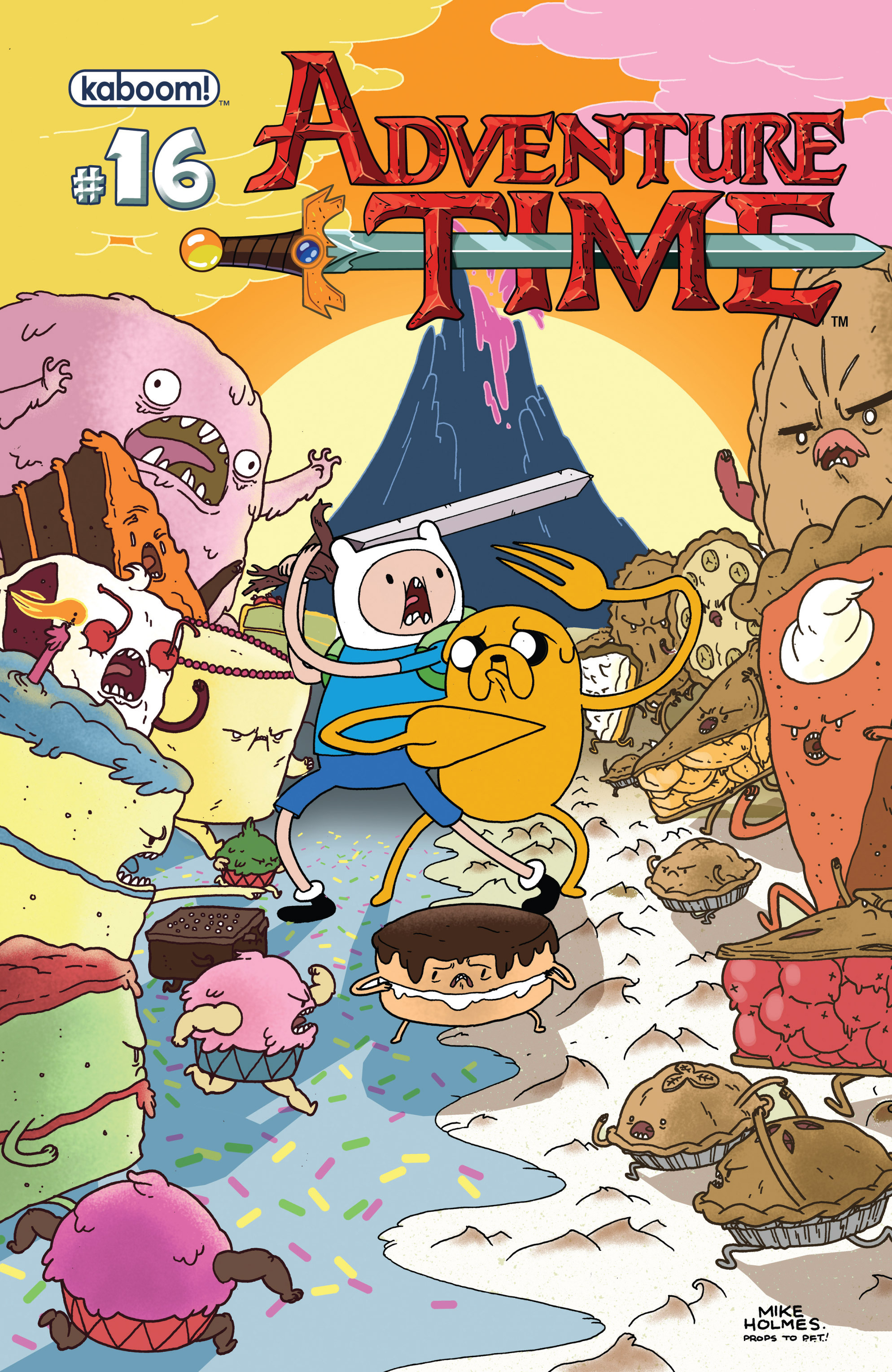 Read online Adventure Time comic -  Issue #16 - 1