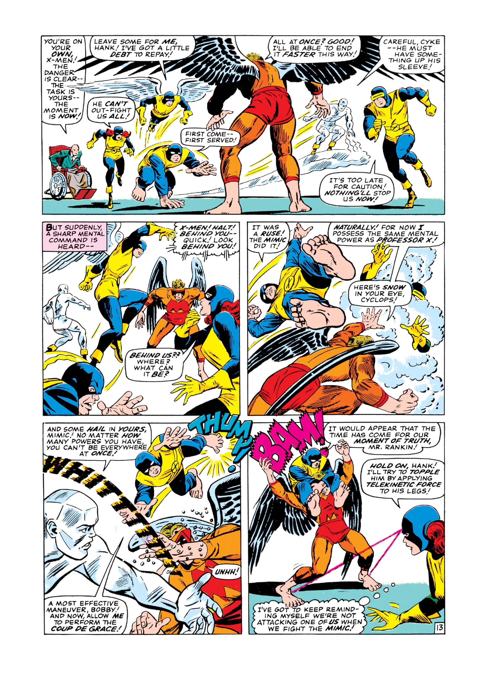 Read online Uncanny X-Men (1963) comic -  Issue #19 - 14