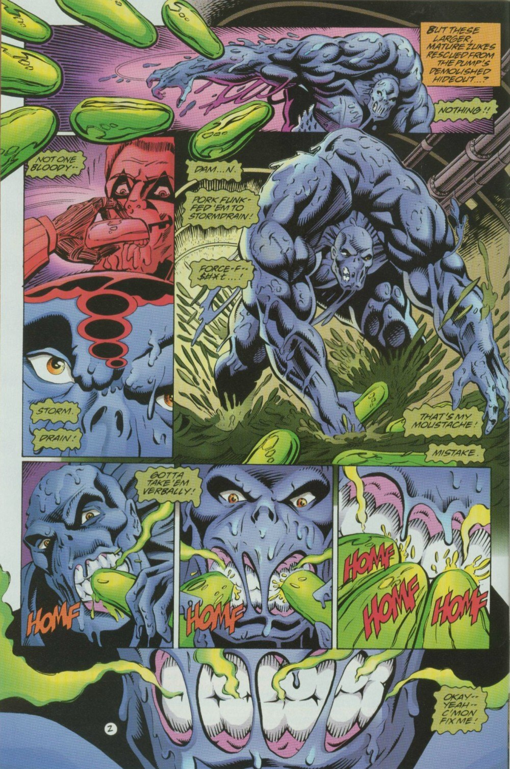 Read online Sludge comic -  Issue #10 - 4