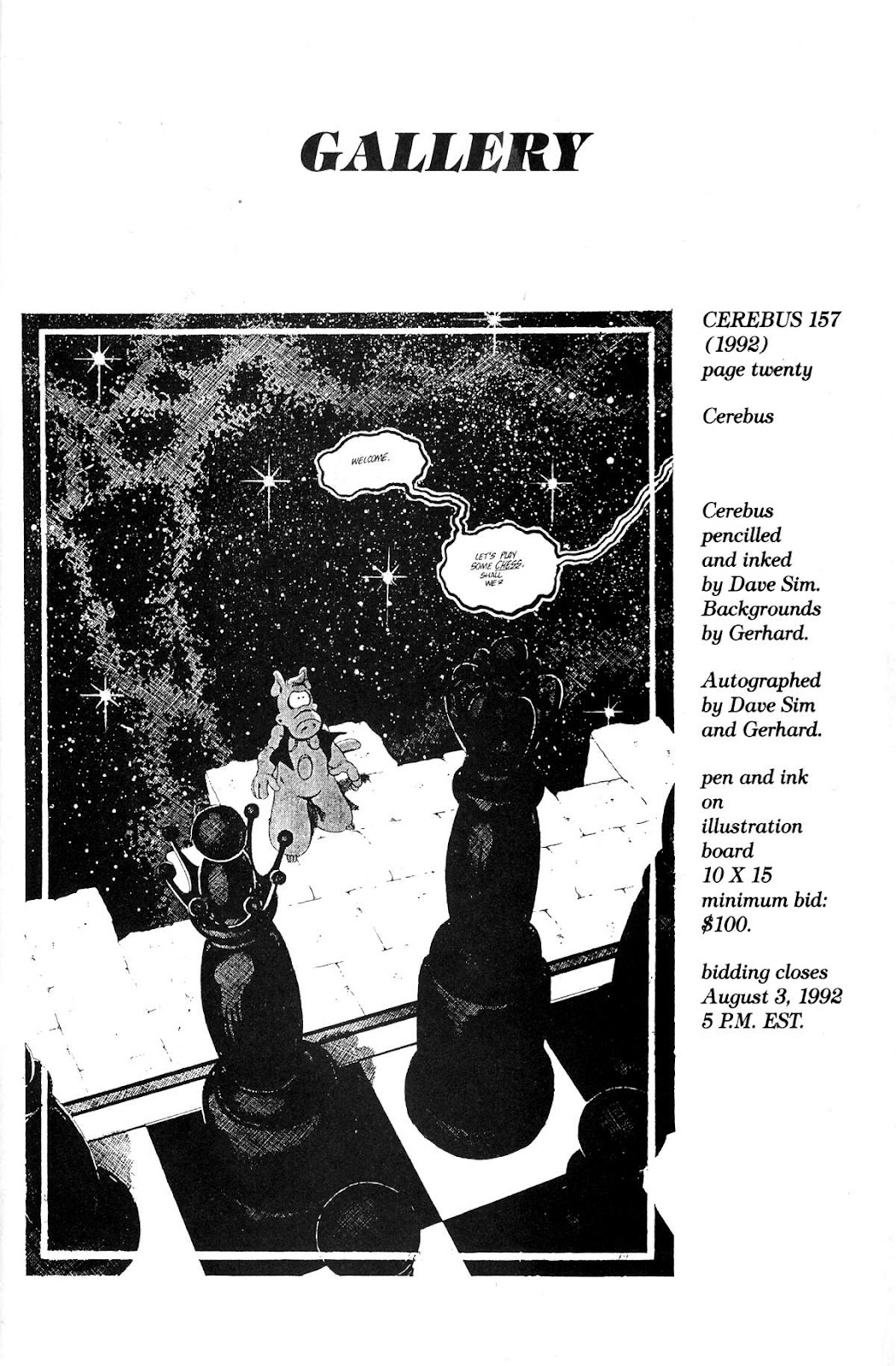 Cerebus Issue #159 #158 - English 31
