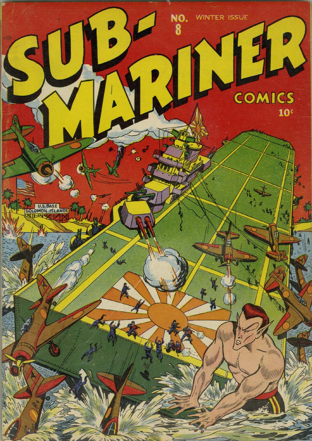 Sub-Mariner Comics 8 Page 1
