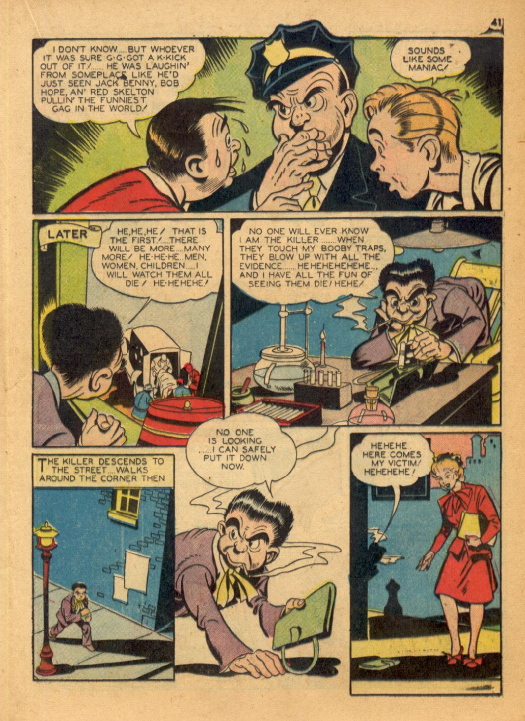 Read online Shadow Comics comic -  Issue #32 - 42