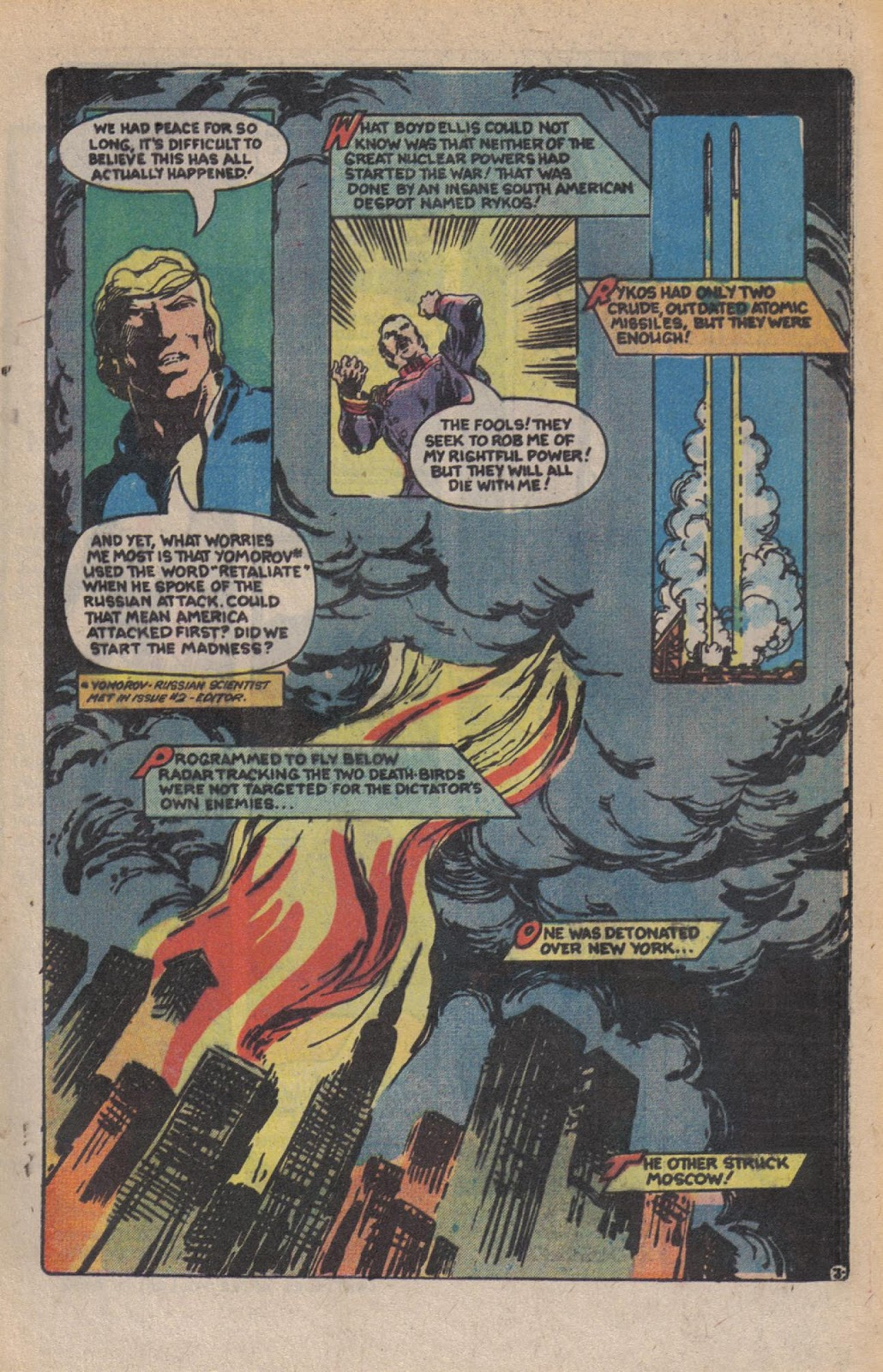 Read online Doomsday   1 (1975) comic -  Issue #10 - 5