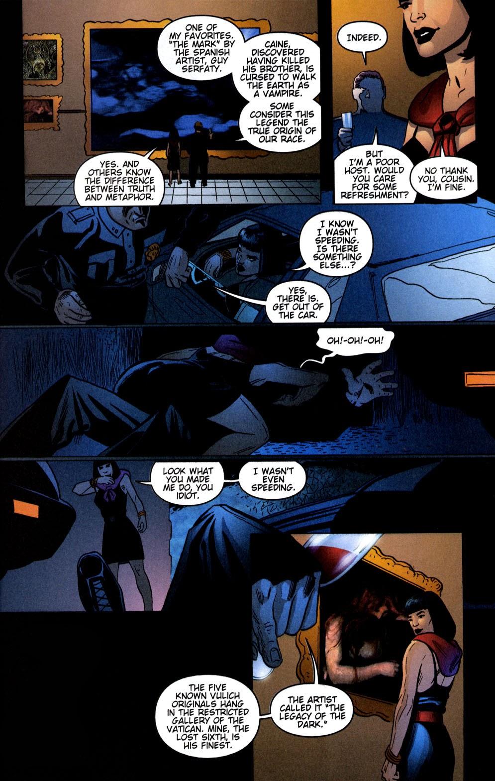 Read online Vampire the Masquerade comic -  Issue # Giovanni - 9