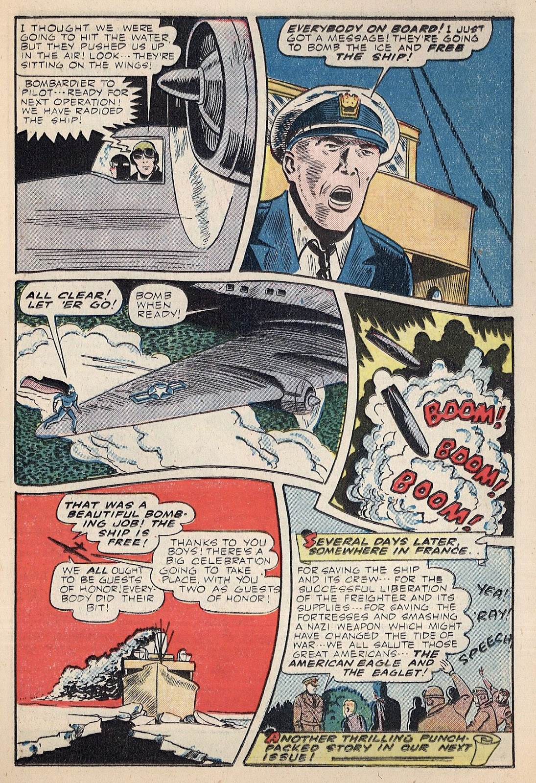 Exciting Comics (1940) issue 38 - Page 25