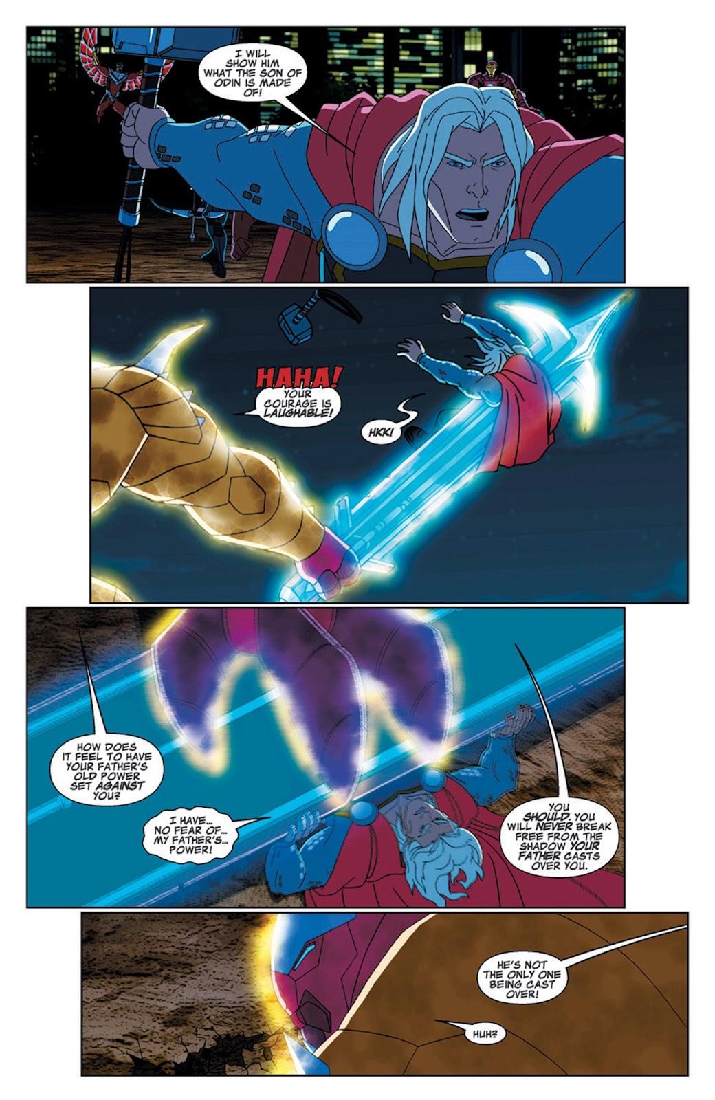 Read online Marvel Universe Avengers Assemble Season 2 comic -  Issue #7 - 25