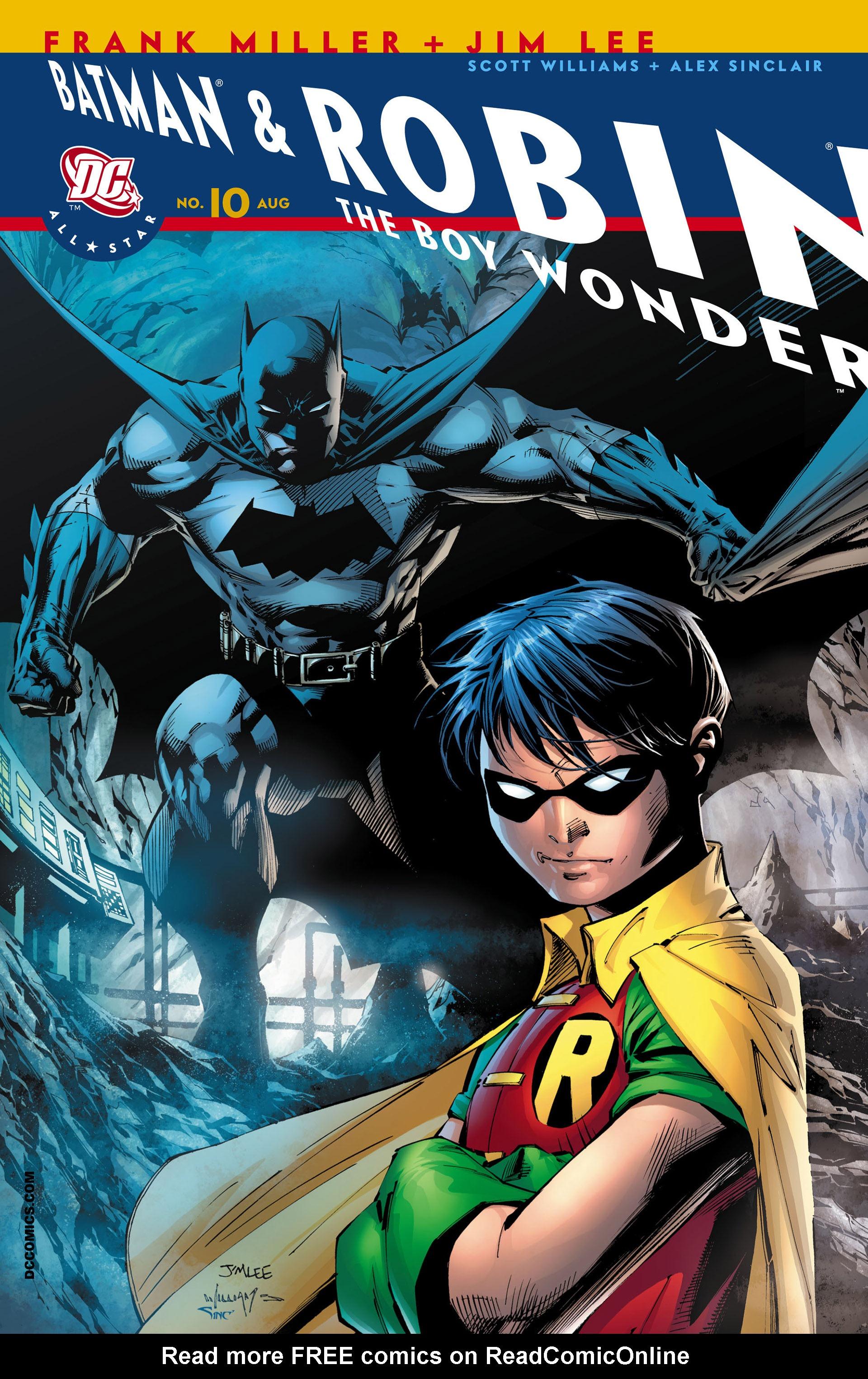 All Star Batman & Robin, The Boy Wonder 10 Page 1