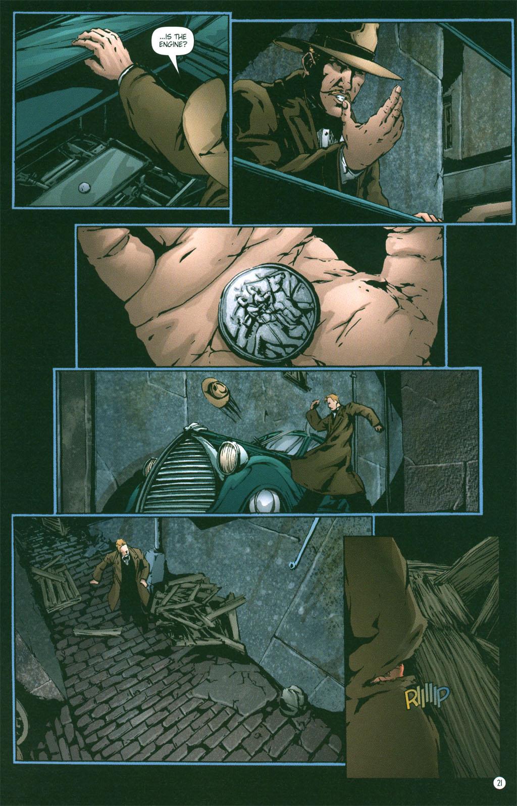 Read online Rex Mundi comic -  Issue #3 - 23