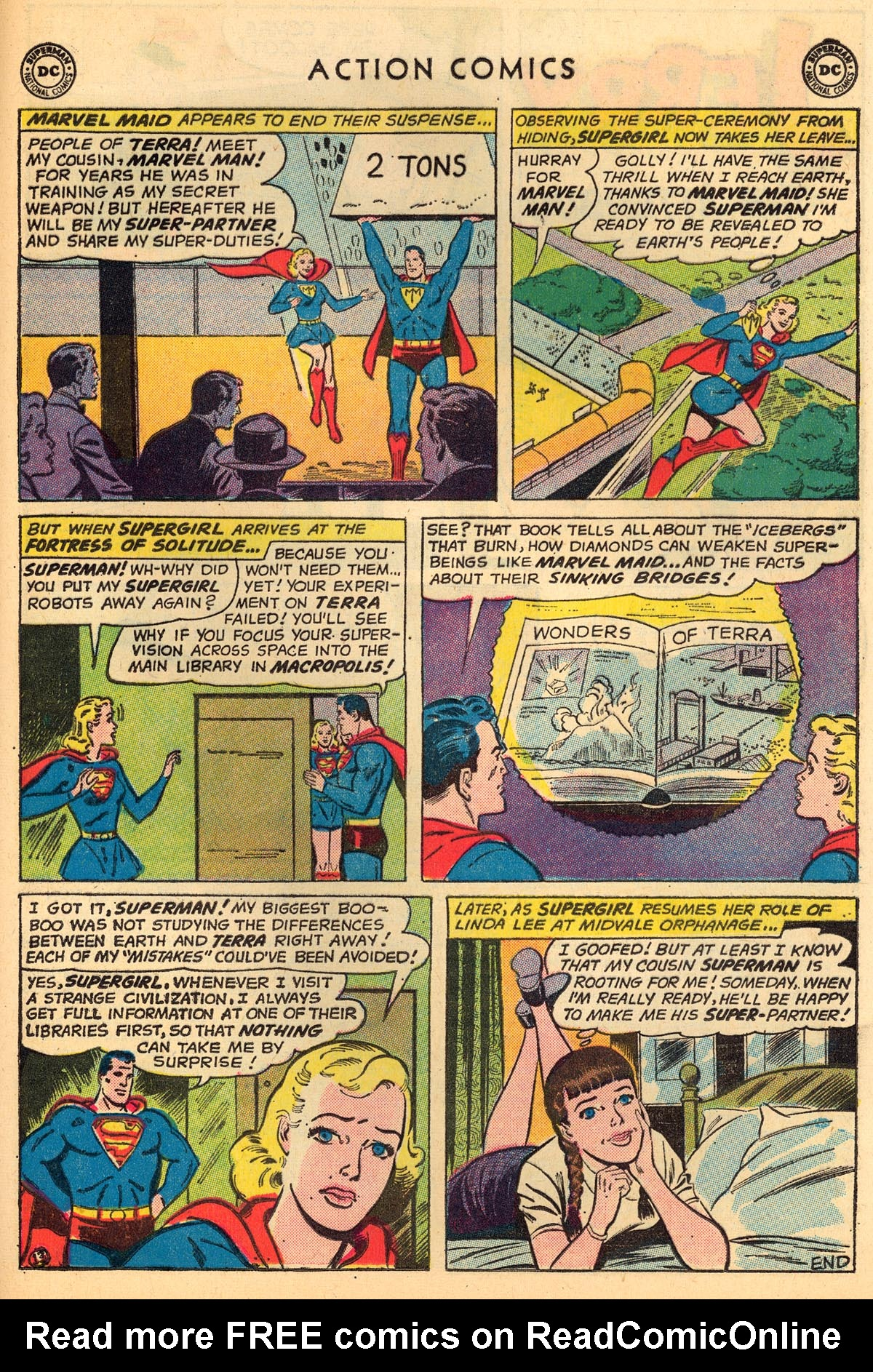 Read online Action Comics (1938) comic -  Issue #273 - 29