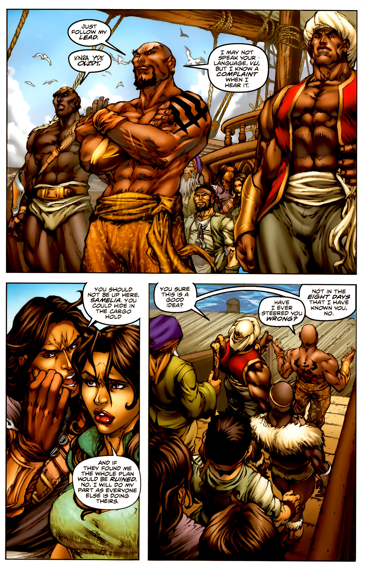 Read online 1001 Arabian Nights: The Adventures of Sinbad comic -  Issue #1 - 10