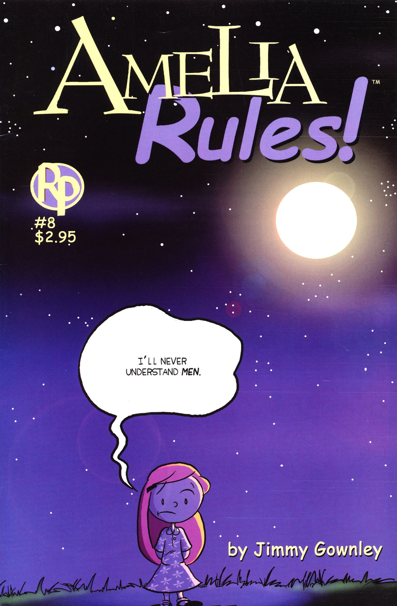 Amelia Rules! issue 8 - Page 1