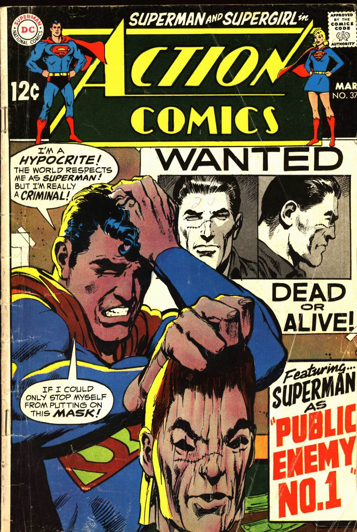 Read online Action Comics (1938) comic -  Issue #374 - 1