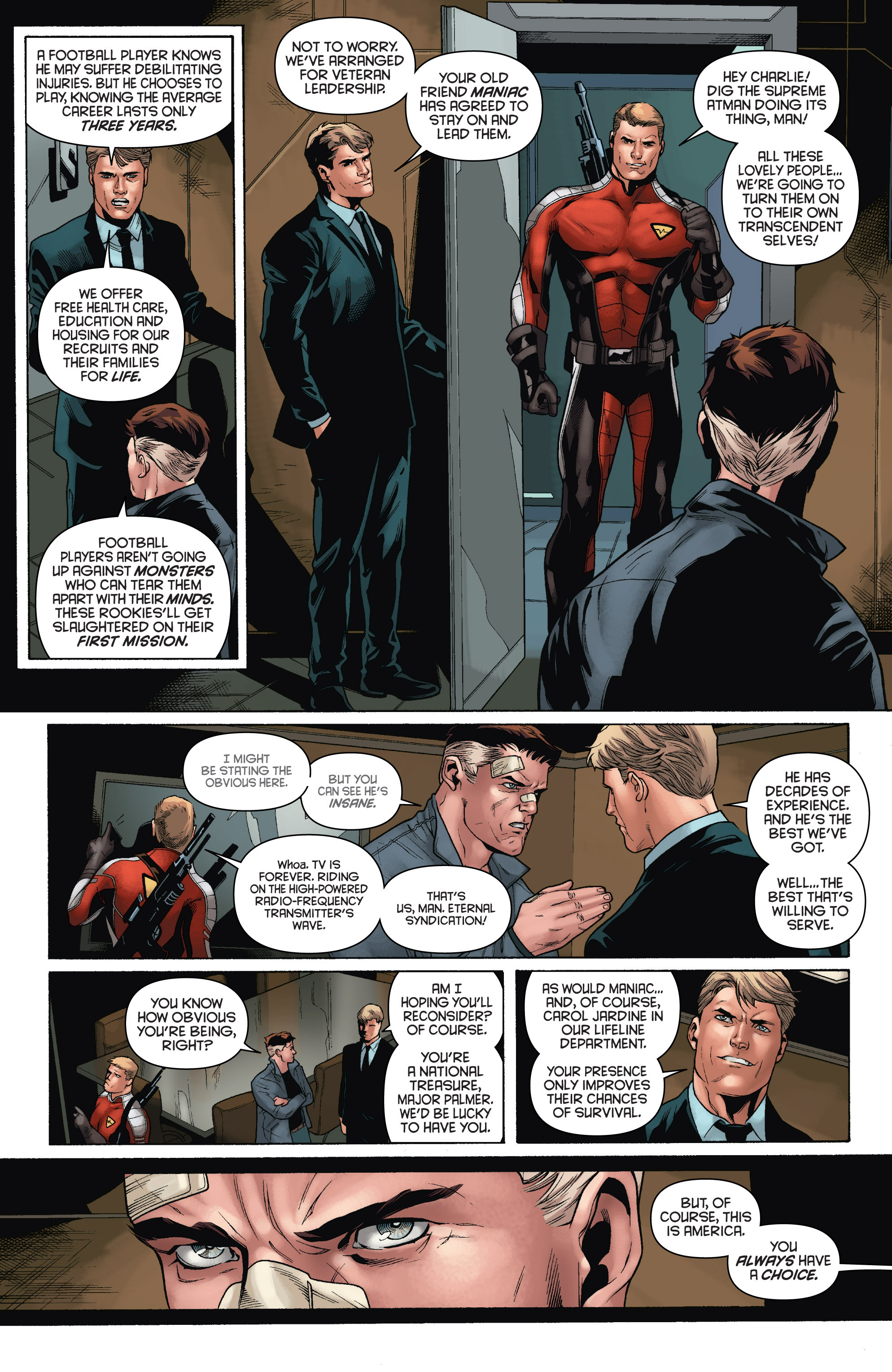 Read online Bloodshot and H.A.R.D.Corps comic -  Issue # TPB 4 - 14