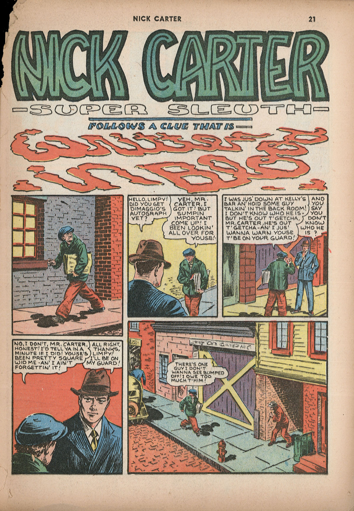 Read online Shadow Comics comic -  Issue #2 - 24