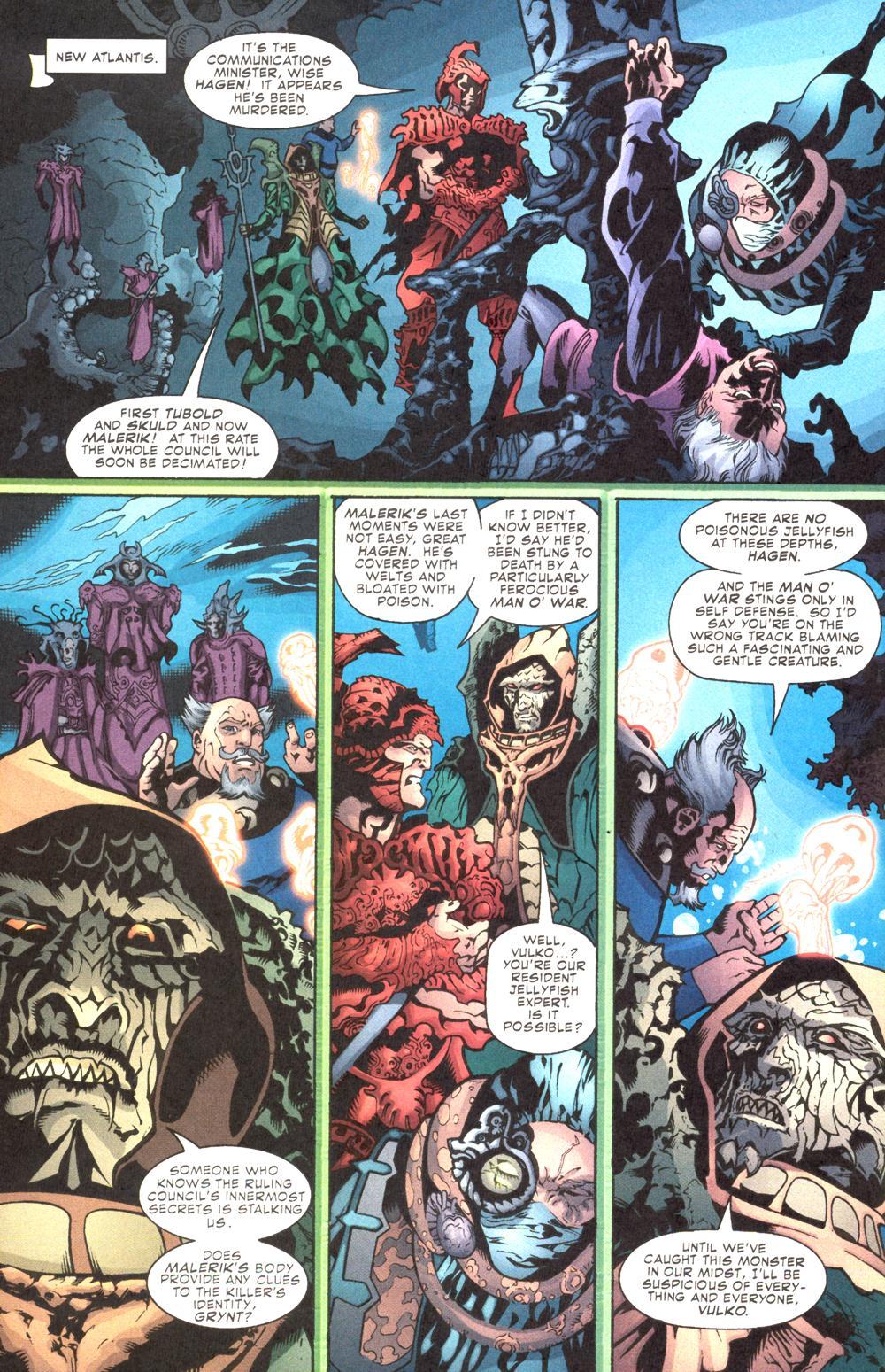 Read online Aquaman (2003) comic -  Issue #10 - 18