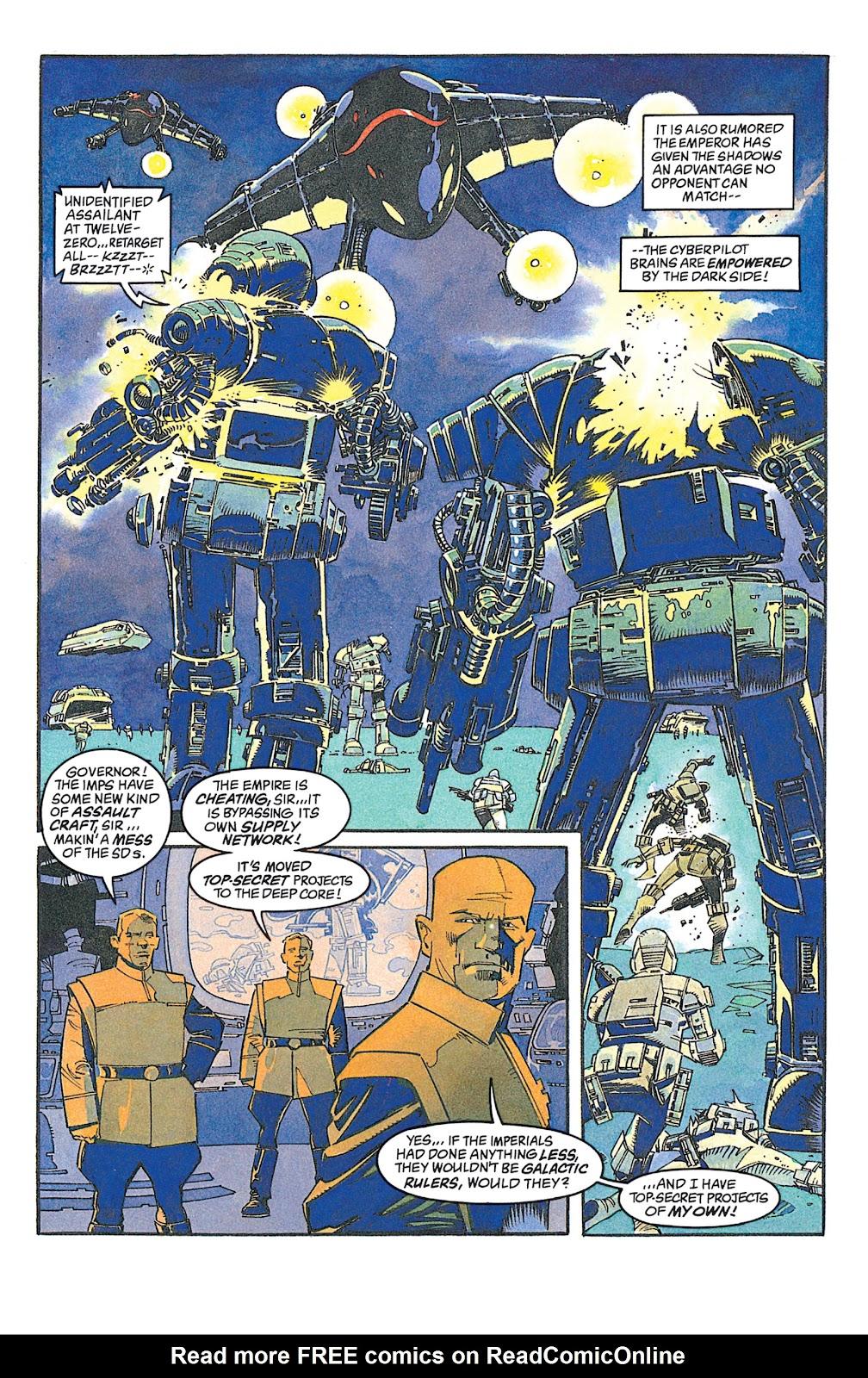 Read online Star Wars: Dark Empire Trilogy comic -  Issue # TPB (Part 2) - 64
