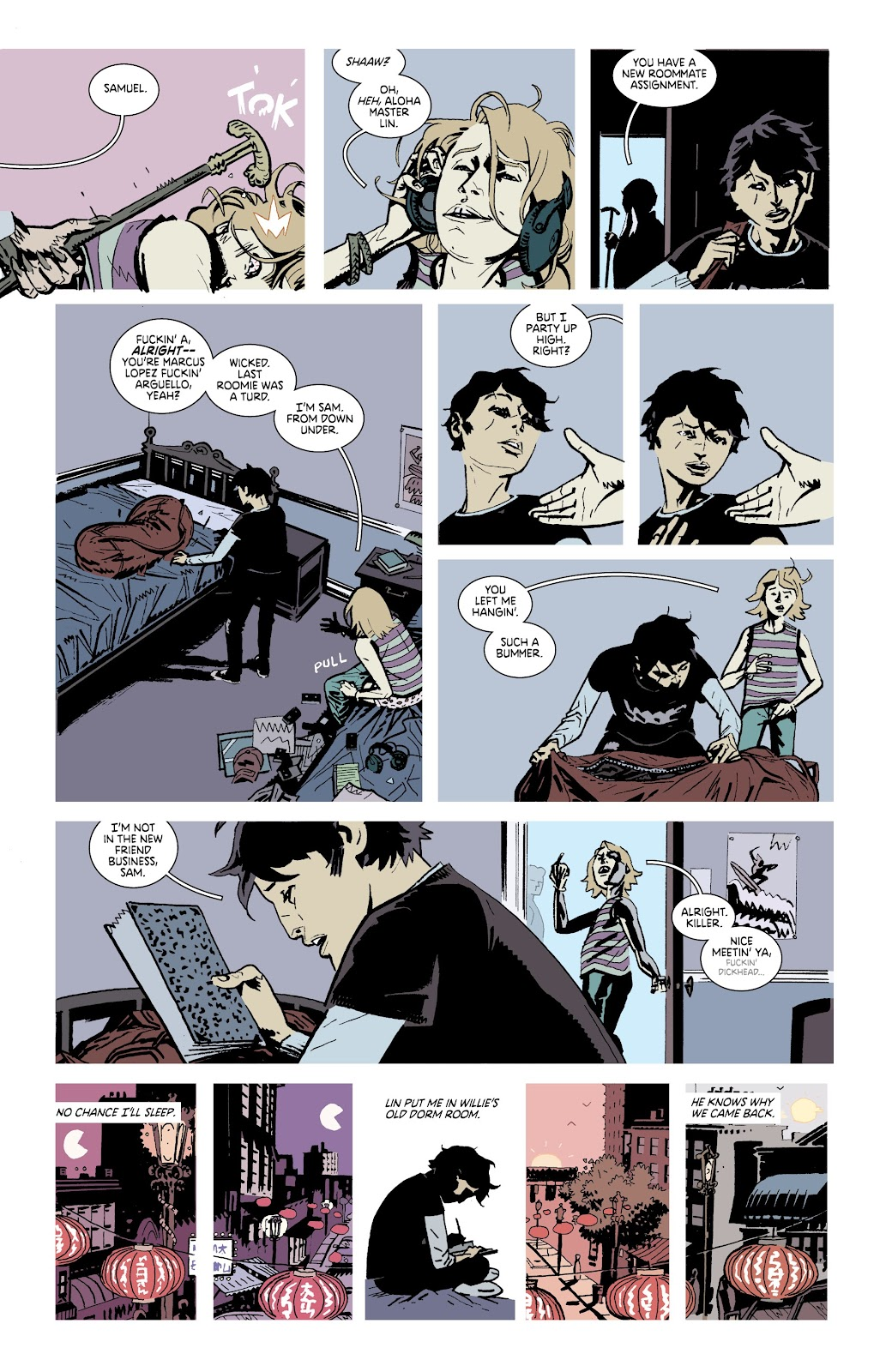 Read online Deadly Class comic -  Issue #38 - 14