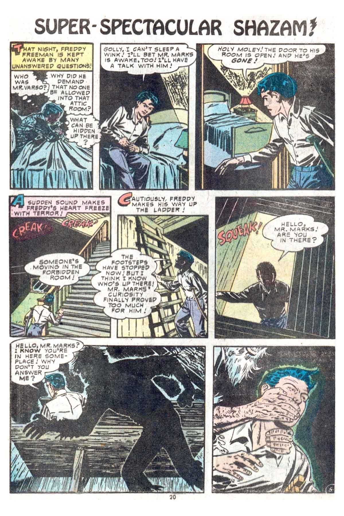 Read online Shazam! (1973) comic -  Issue #13 - 21