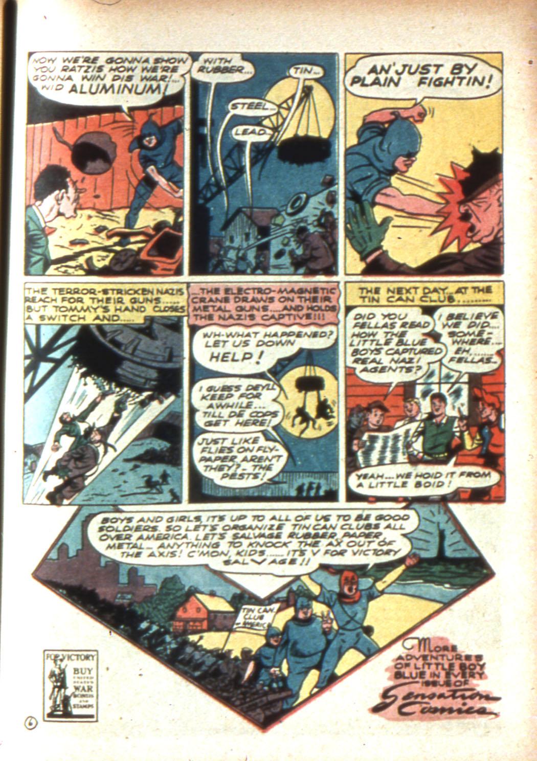 Read online Sensation (Mystery) Comics comic -  Issue #16 - 55