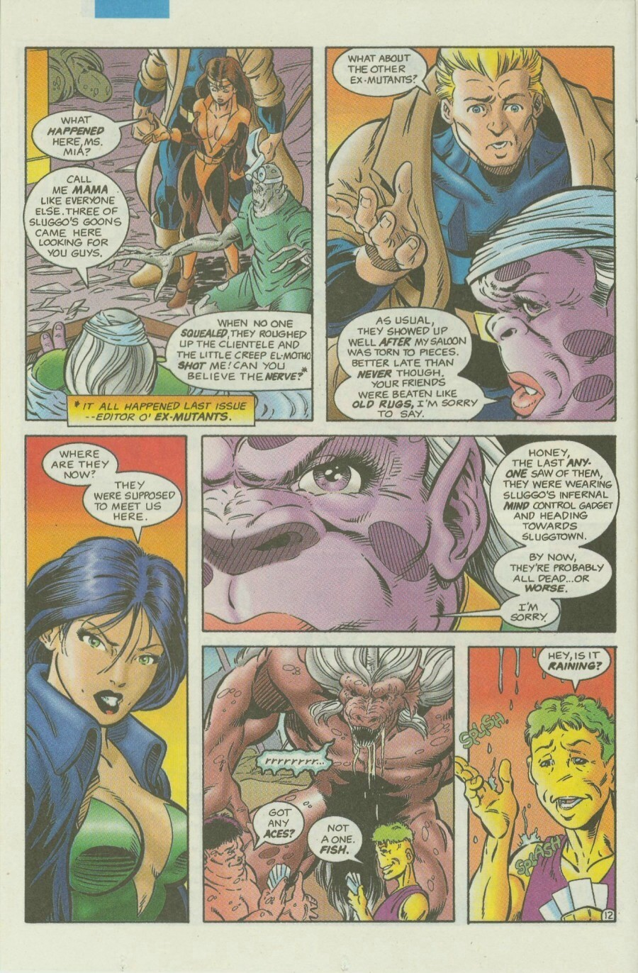 Read online Ex-Mutants comic -  Issue #3 - 15