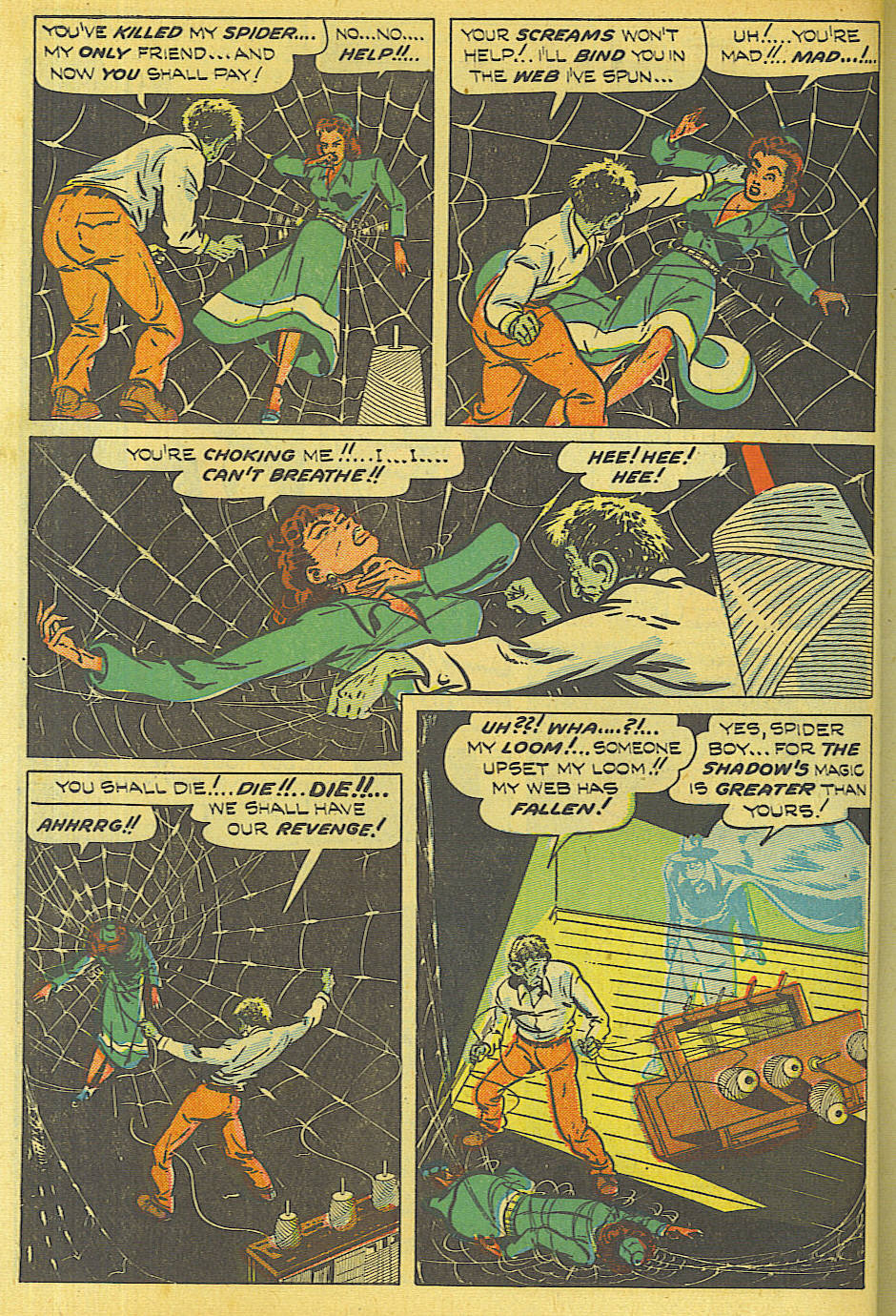 Read online Shadow Comics comic -  Issue #87 - 13