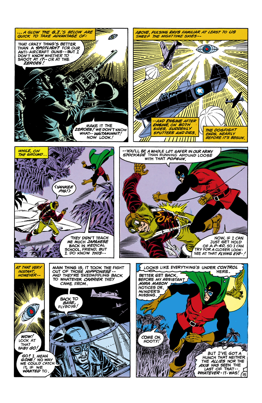 Read online All-Star Squadron comic -  Issue #10 - 16